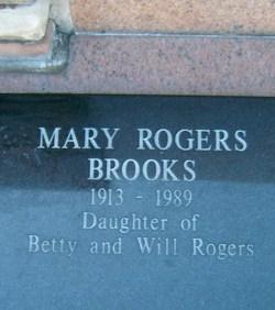 Mary Amelia <i>Rogers</i> Brooks