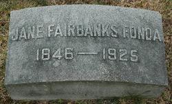 Jane A. <i>Fairbanks</i> Fonda