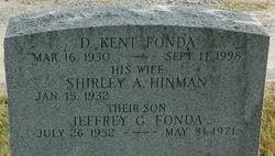 Shirley A. <i>Hinman</i> Fonda