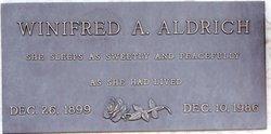 Winifred A. Aldrich