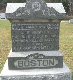 America M. Addie <i>Killingsworth</i> Boston