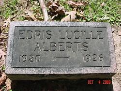 Edris Lucille Alberts