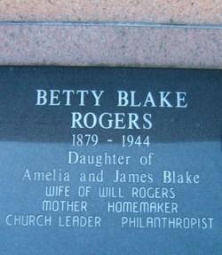 Betty <i>Blake</i> Rogers