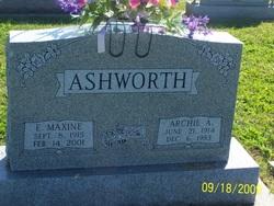 Etta Maxine <i>Mathena</i> Ashworth