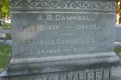 Dr Gertrude <i>Dart</i> Campbell-O'Sullivan