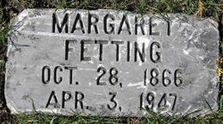 Margaretta Margaret <i>Schumacker</i> Fetting