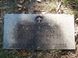 Lieut John William Hill, Jr