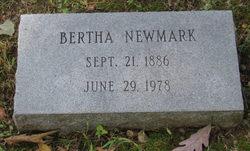 Bertha <i>Cruvant</i> Newmark