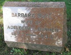 Barbara <i>Burt</i> Bonner