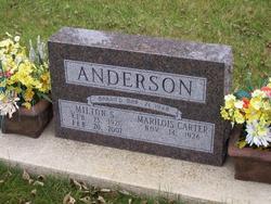 Sgt Milton S Anderson