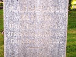 Mary Ann <i>Bradlaugh</i> Newson