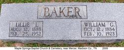 Lillie Idalia <i>Stowe</i> Baker