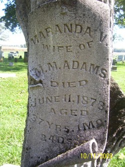 Maranda V. <i>Bailey</i> Adams