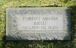 Florence Amanda Bagley