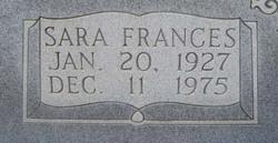 Sara Frances <i>Cadenhead</i> Blackmon
