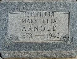 Mary Etta <i>Rucker</i> Arnold