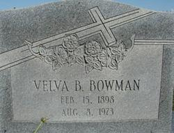 Velva B. Bowman
