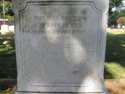 Adeline <i>Hutchinson</i> Caldwell