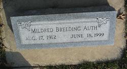 Mildred <i>Breeding</i> Auth