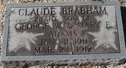 Claude Brabham Adams