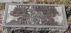 Mary Eleanor Adams