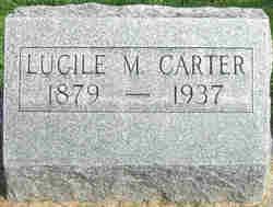 Lucille M. <i>Hunter</i> Carter