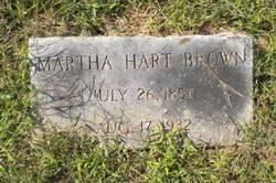 Martha <i>Hart</i> Brown