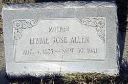 Libbie Rose <i>Glenn</i> Allen