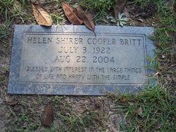 Helen Shirer <i>Cooper</i> Britt