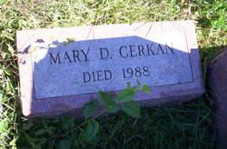 Mary D Cerkan