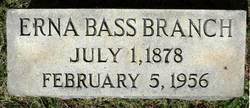 Erna <i>Bass</i> Branch