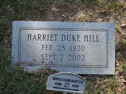Harriet <i>Duke</i> Hill