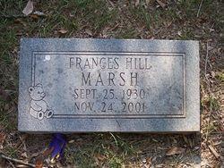 Frances Lajean <i>Hill</i> Marsh