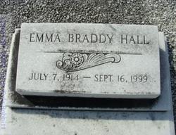 Emma <i>Braddy</i> Hall