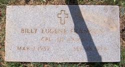 Billy Eugene Franklin