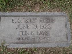 E. C. Bill Alsup
