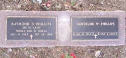 Gertrude W Phillips