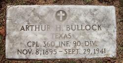 Arthur Henry Daty Bullock