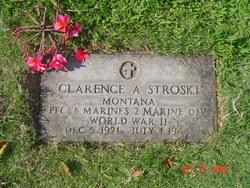 PFC Clarence Alexander Stroski