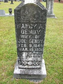 Nancy Ann <i>Eubanks</i> Dendy