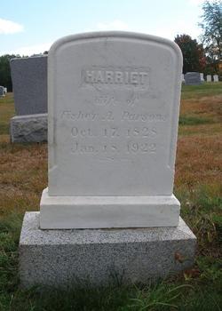 Harriet <i>Hastey</i> Parsons
