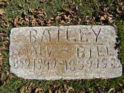 Mary Jane <i>Alderson</i> Bailey
