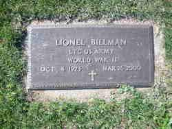 LTC Lionel Billman