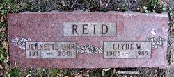 Clyde William Reid