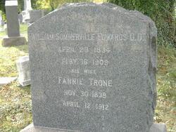 Lucinda Frances Fannie <i>Trone</i> Edwards