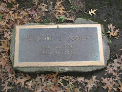 Wilford J Booher