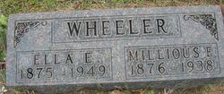 Ella Etta <i>Wisner</i> Wheeler