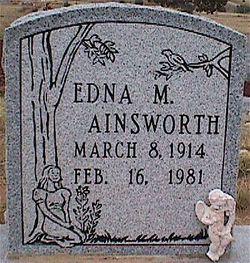 Edna Mabel <i>Markel</i> Ainsworth