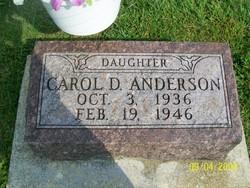 Carol D Anderson