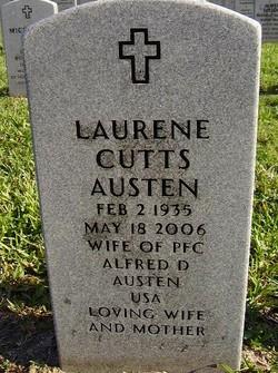 Laurene <i>Cutts</i> Austen
